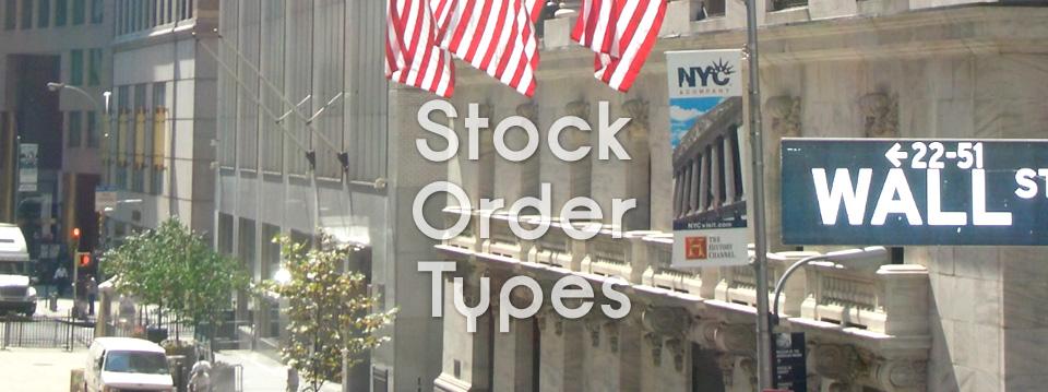 Making Sense of Stock Market Order Types