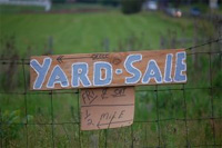 Tips for having a good yard sale or garage sale