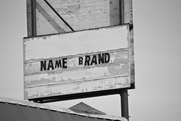 Don't buy name brand