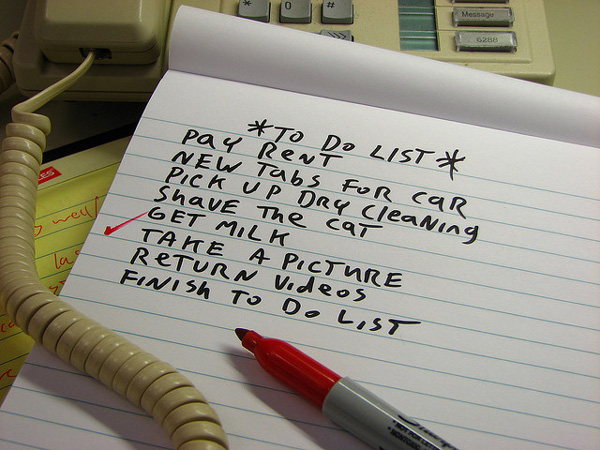 Pay rent on to do list