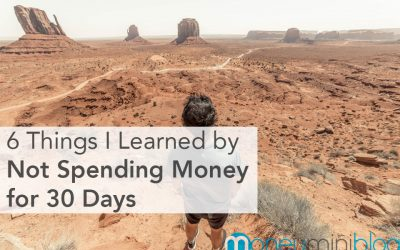 6 Things I Learned by Not Spending Money for 30 Days