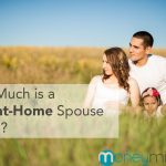 stay at home spouse wife husband worth