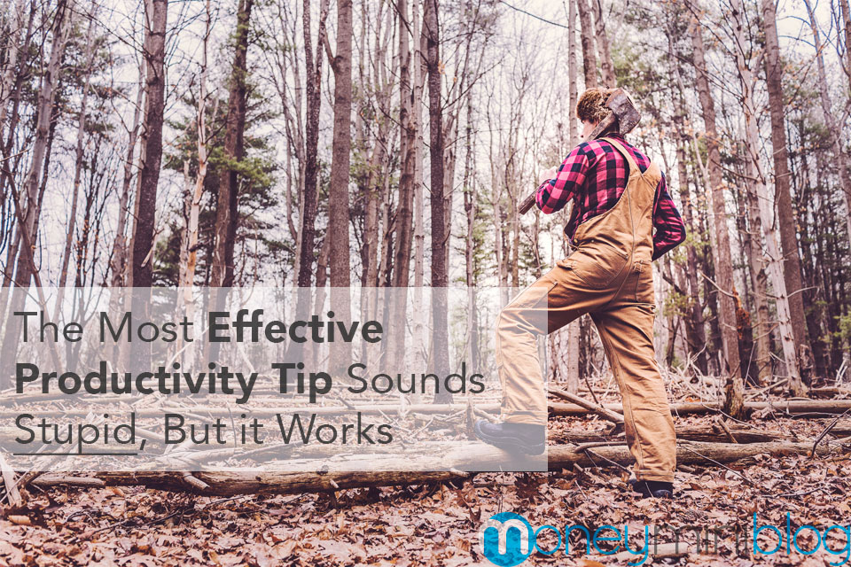 The Most Effective Productivity Tip Sounds Stupid, But it Works