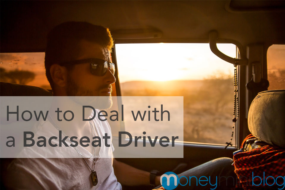 deal with backseat driver
