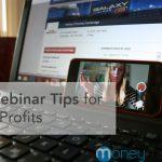 webinar tips business non-profits