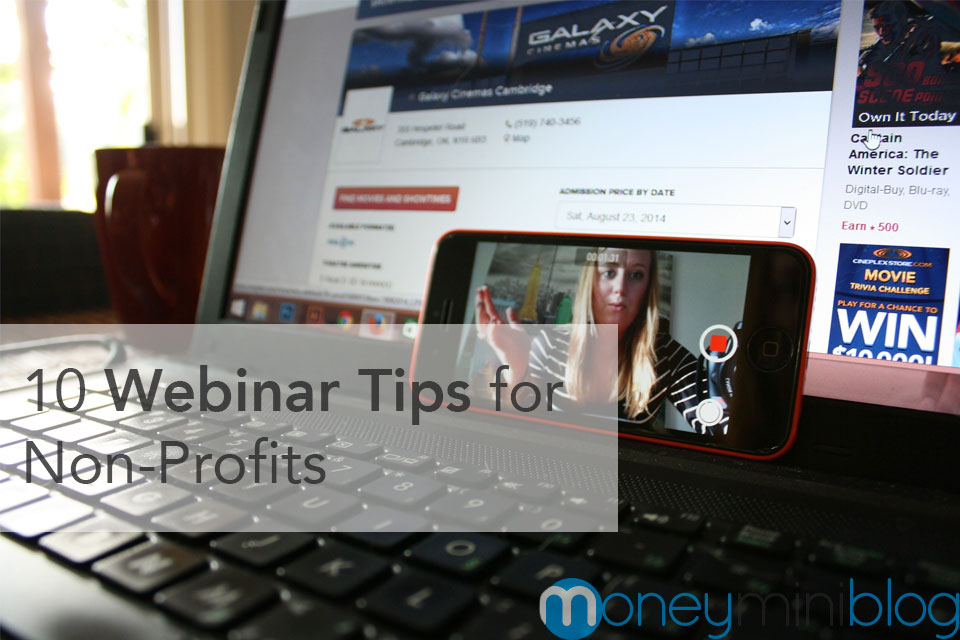 10 Webinar Tips for Non-Profits
