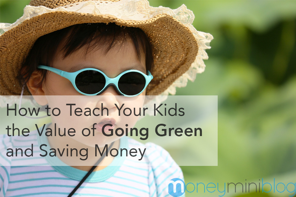 going green kids children saving money