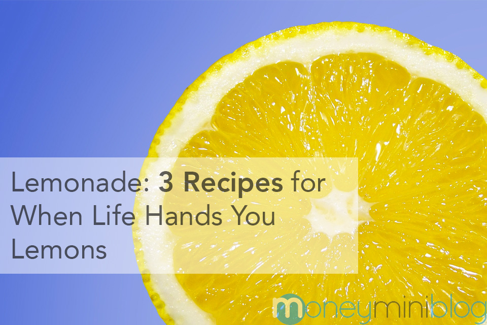 Lemonade: 3 Recipes for When Life Hands You Lemons