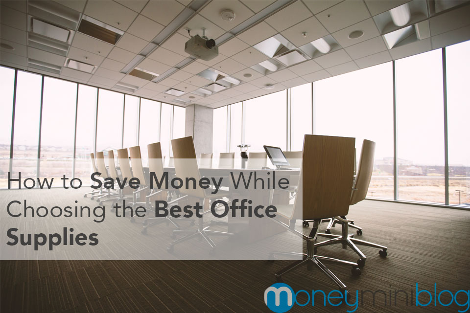 save money office supplies
