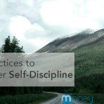 self-discipline habits practices