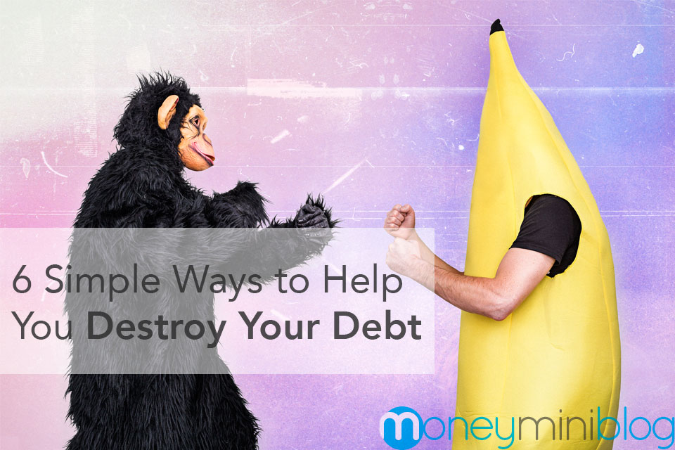 destroy debt pay off debt help
