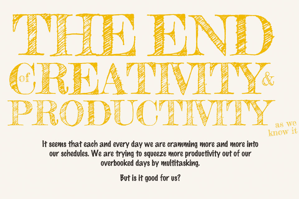 The End of Creativity and Productivity as We Know It [Infographic]