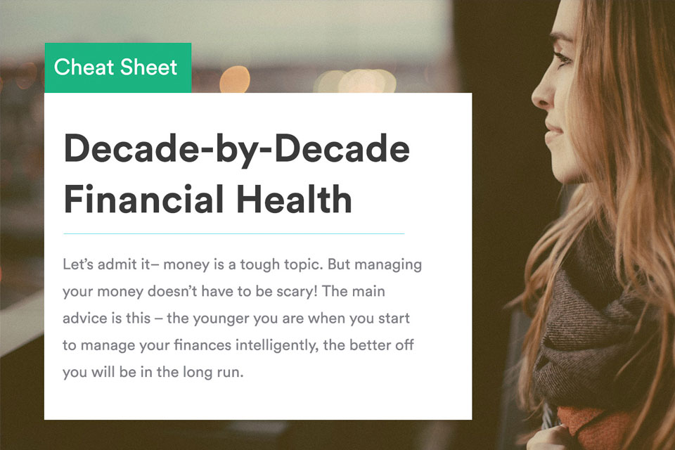 The Decade-by-Decade Financial Health Cheat Sheet [Infographic]