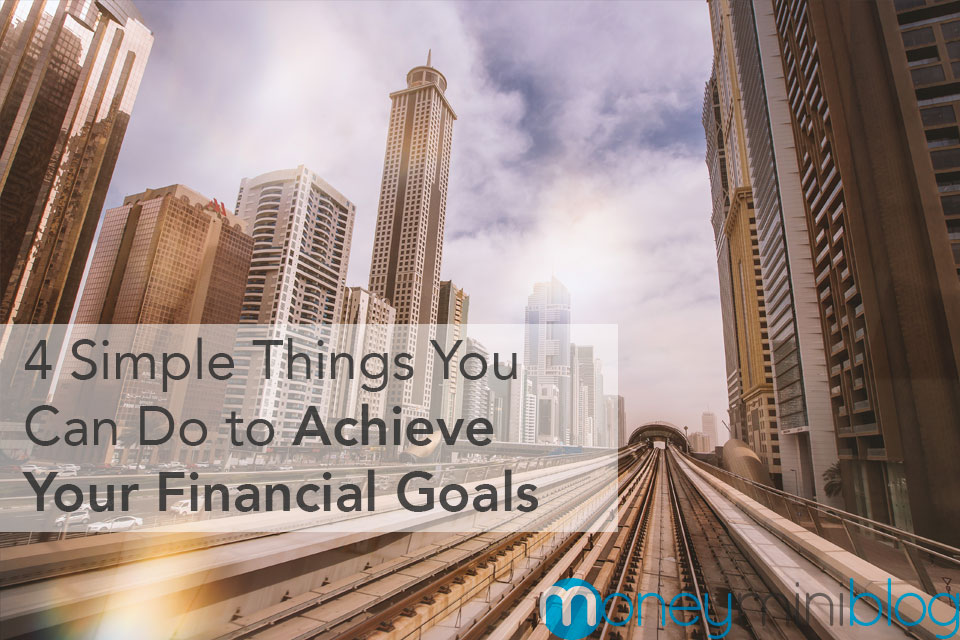 financial goals simple ideas