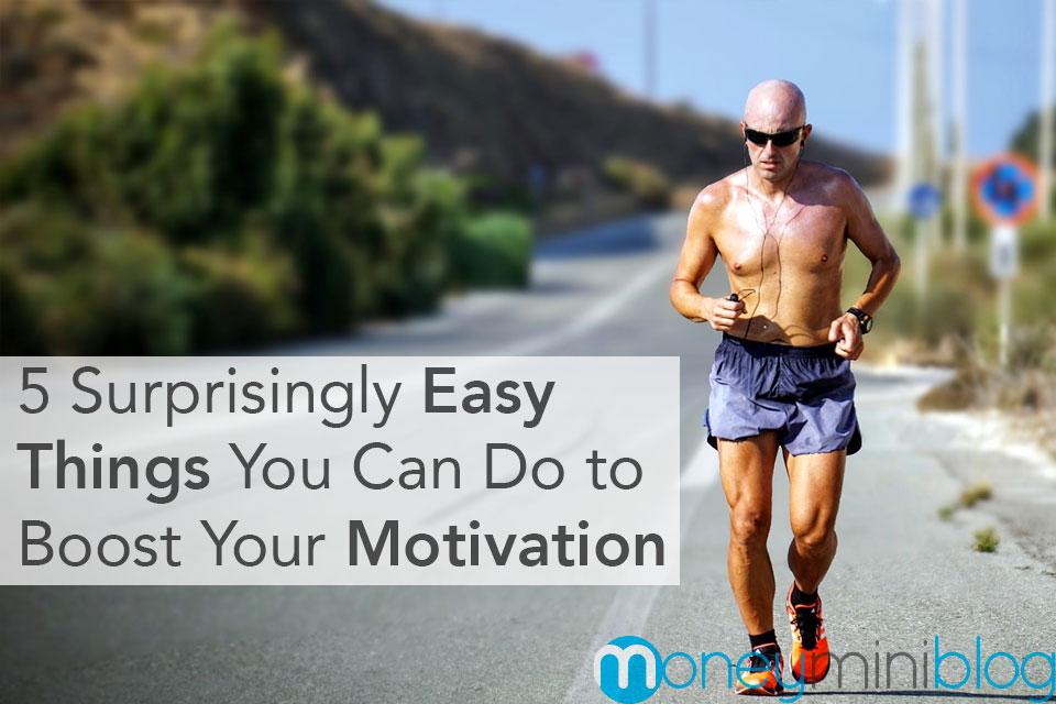 boost motivation exercise go outside