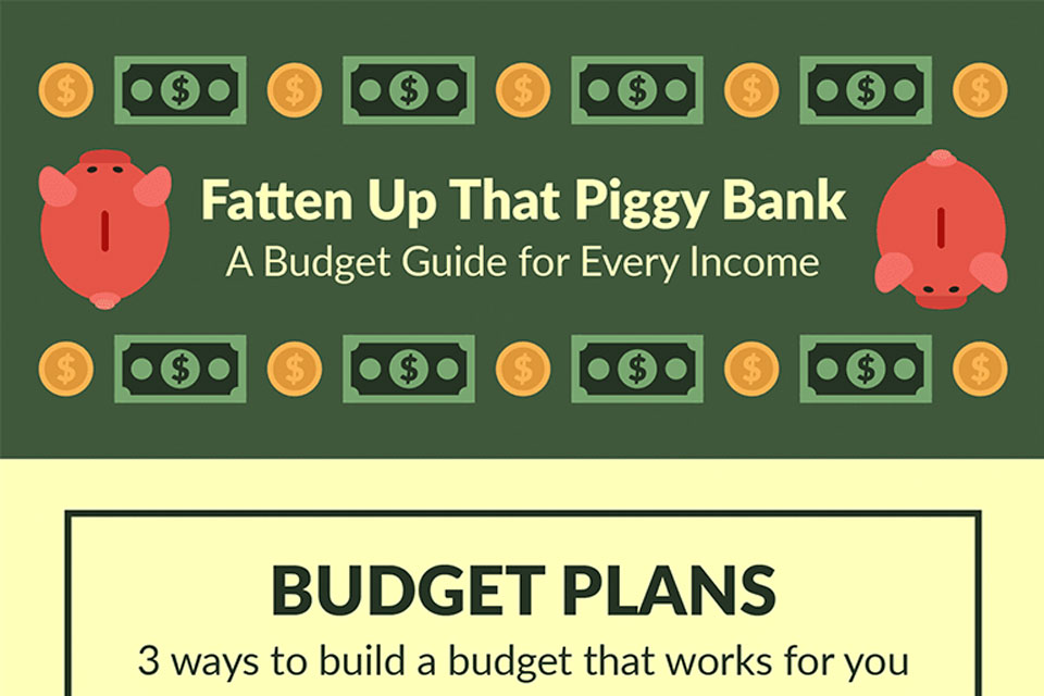A Budget for Every Income [Infographic]