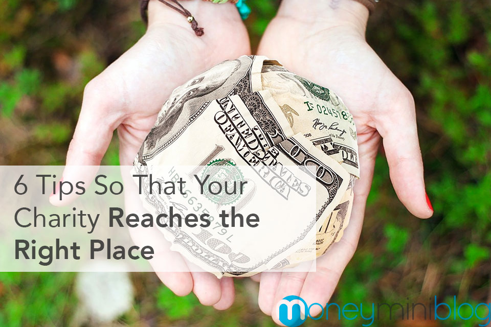 6 Tips So That Your Charity Reaches the Right Place