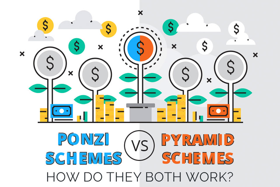 Ponzi Schemes & Pyramid Schemes: How Do They Both Work?
