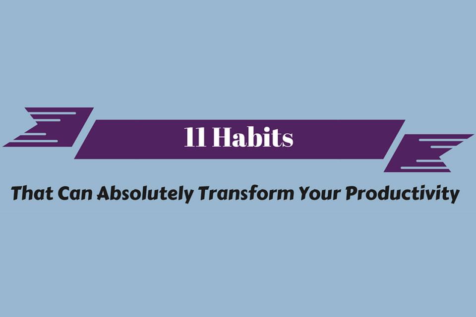habits that will transform productivity