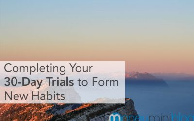 Completing Your 30-Day Trials to Form New Habits