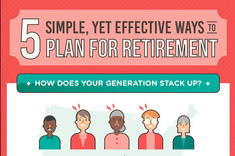 5 Simple Yet Effective Ways to Plan for Retirement [Infographic]