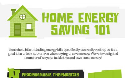 8 Ways to Make Your Home More Energy Efficient [Infographic]