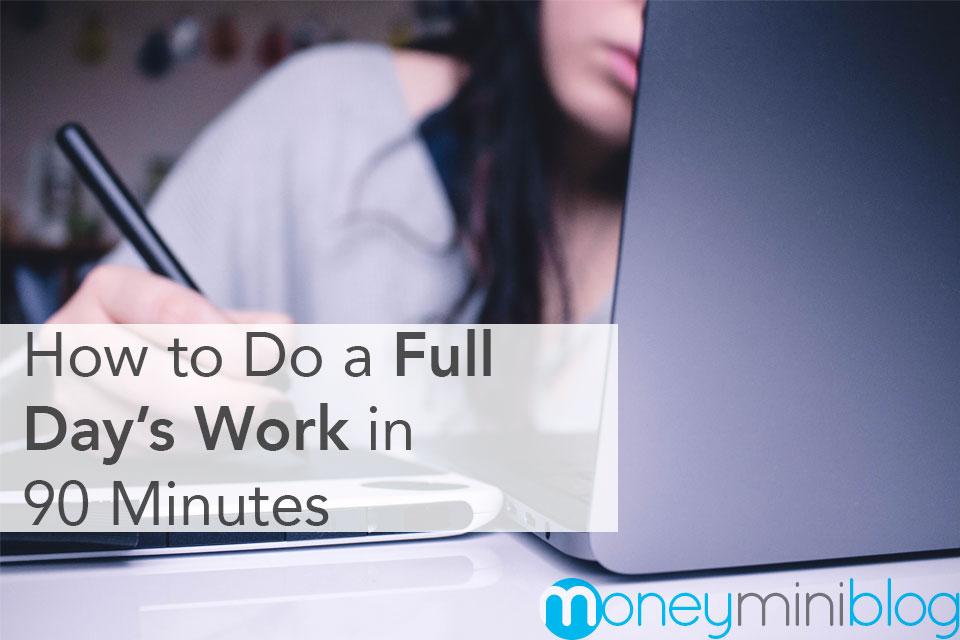 focus blocks work day 90 minutes