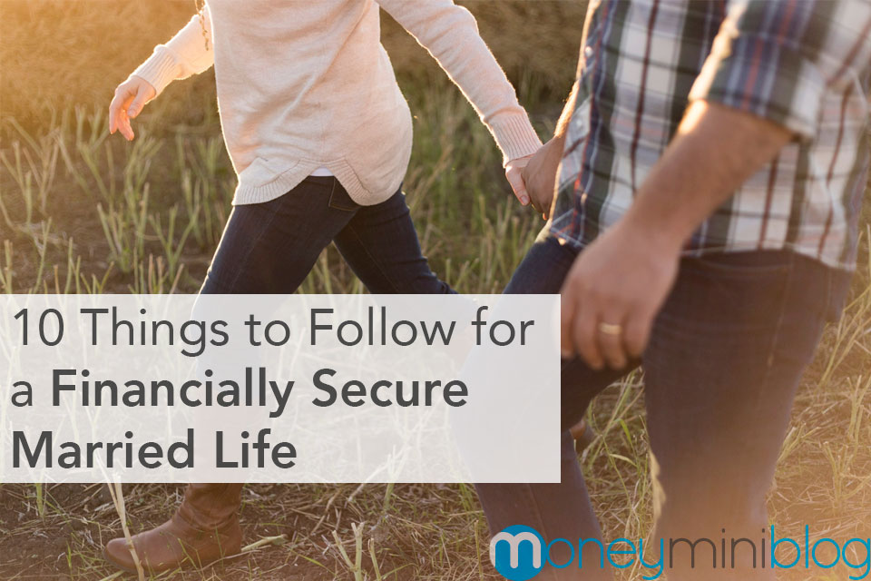 10 Things to Follow for a Financially Secure Married Life