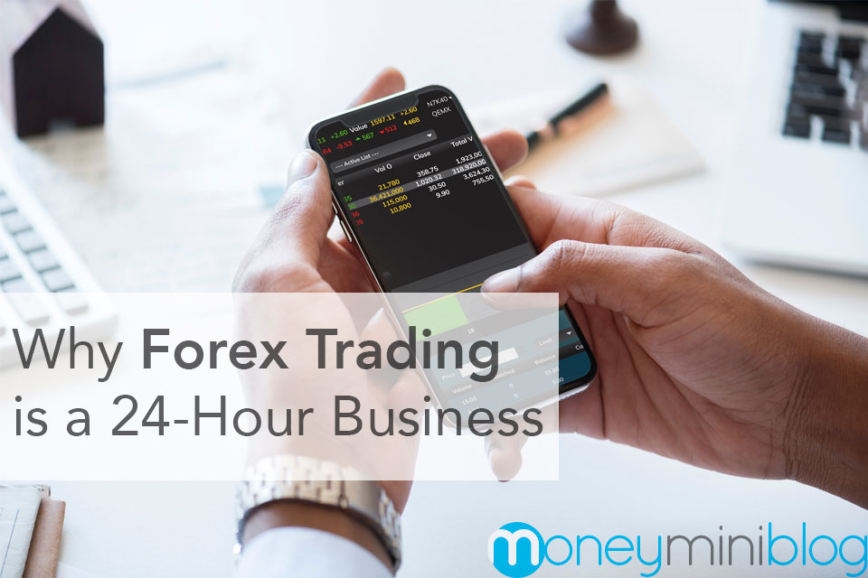 Why​ Forex Trading ​is​ ​a​ ​24-Hour Business