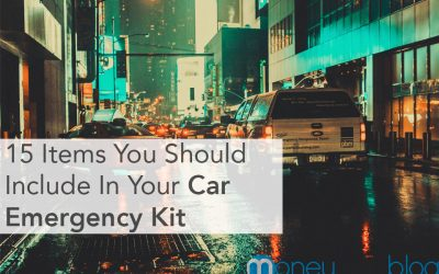 15 Items You Should Include In Your Car Emergency Kit