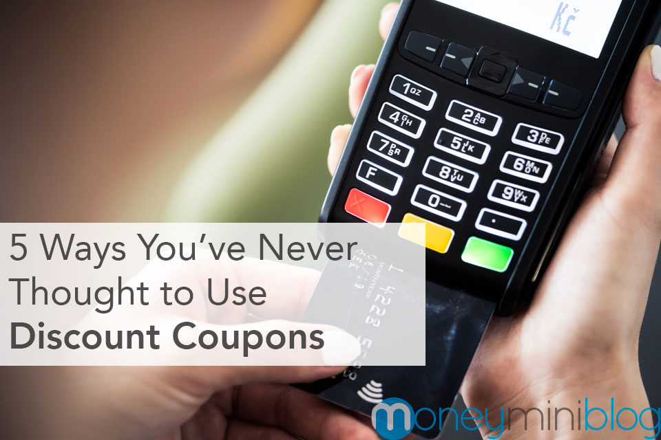 5 Ways You've Never Thought to Use Discount Coupons