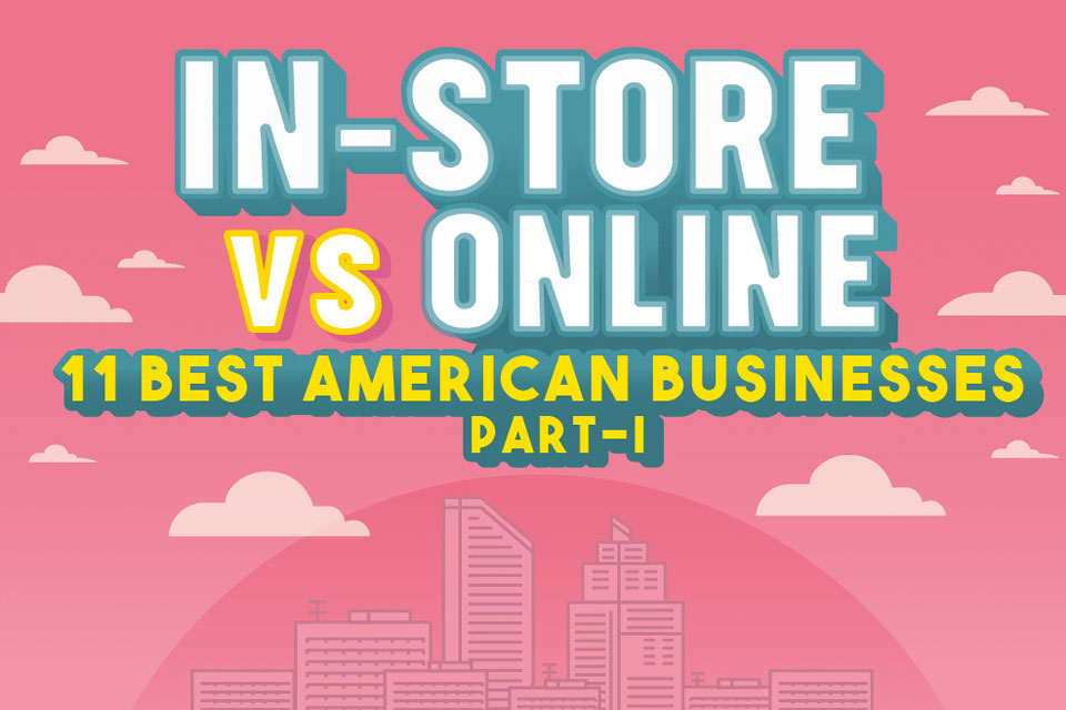 The Future Of Retail - Online Or In-Store Infographic