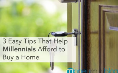 3 Easy Tips That Help Millennials Afford to Buy a Home