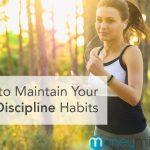 self discipline habits