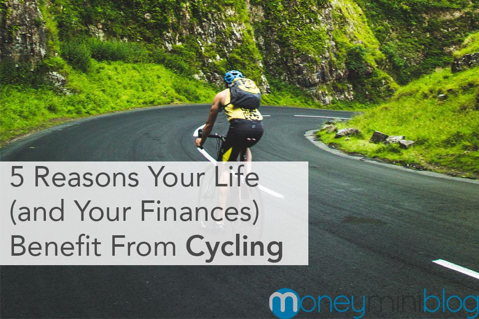 cycling benefits life finances