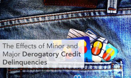 The Effects of Minor and Major Derogatory Credit Delinquencies