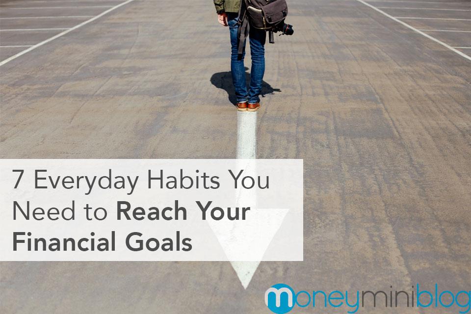 financial goals habits