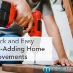 home improvements value adding
