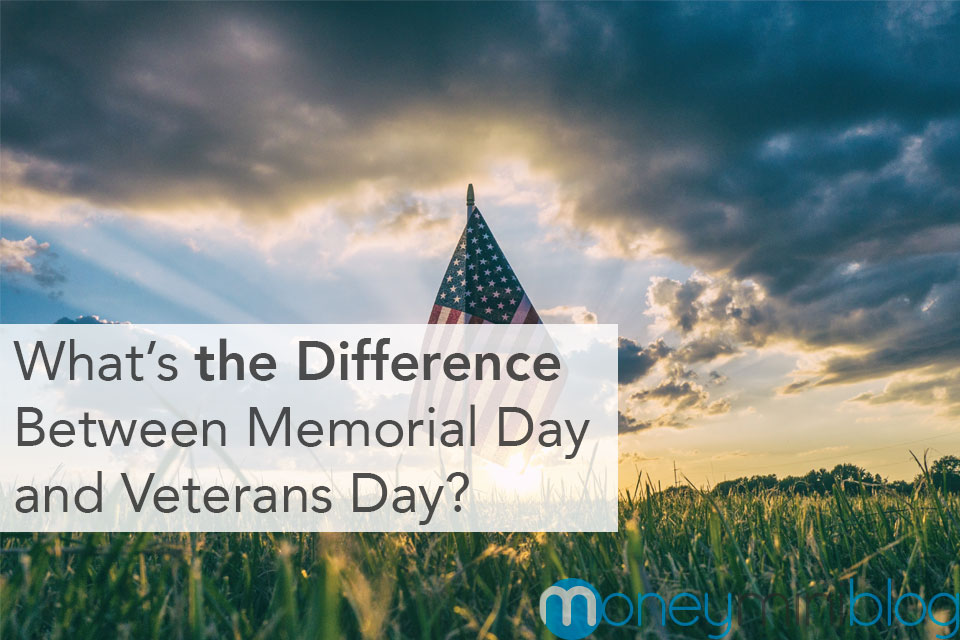 memorial veterans day difference