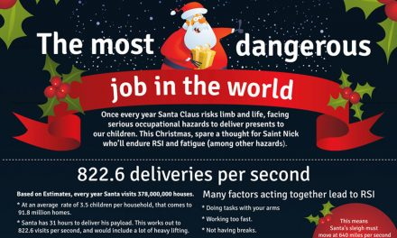 The Most Dangerous Job in the World [Infographic]