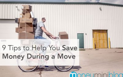 9 Tips to Help You Save Money During a Move