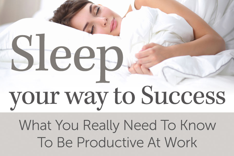get better sleep infographic