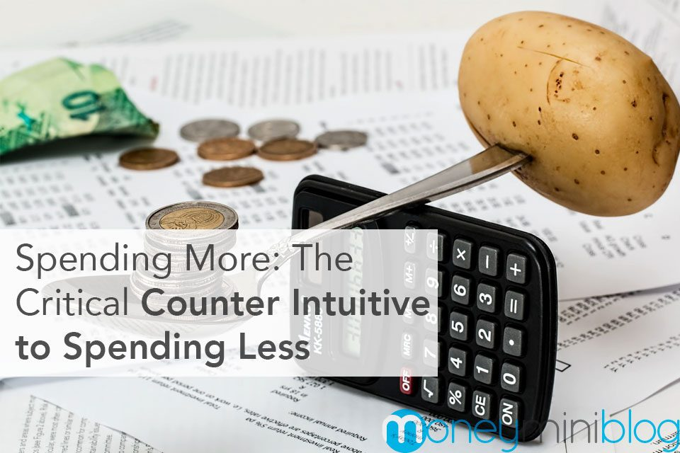 Spending More: The Critical Counter Intuitive to Spending Less