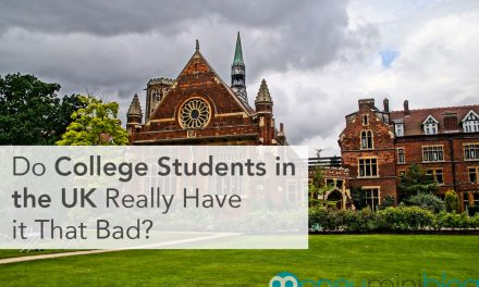 Do College Students in the UK Really Have it That Bad?