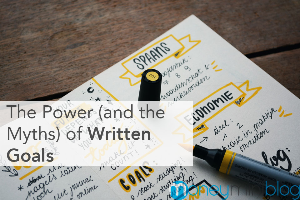 goal written myth power