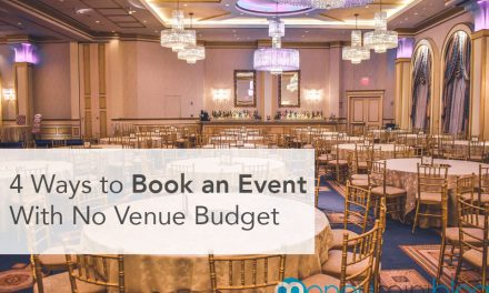 4 Ways to Book an Event With No Venue Budget