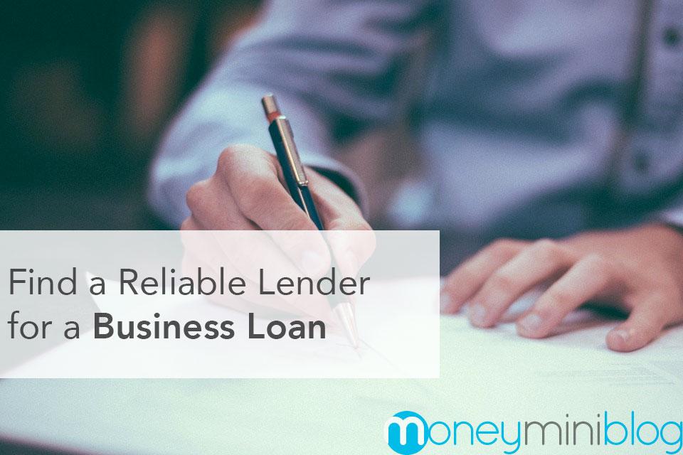 business loan lender