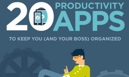 20 Productivity Apps to Keep You Organized [Infographic]