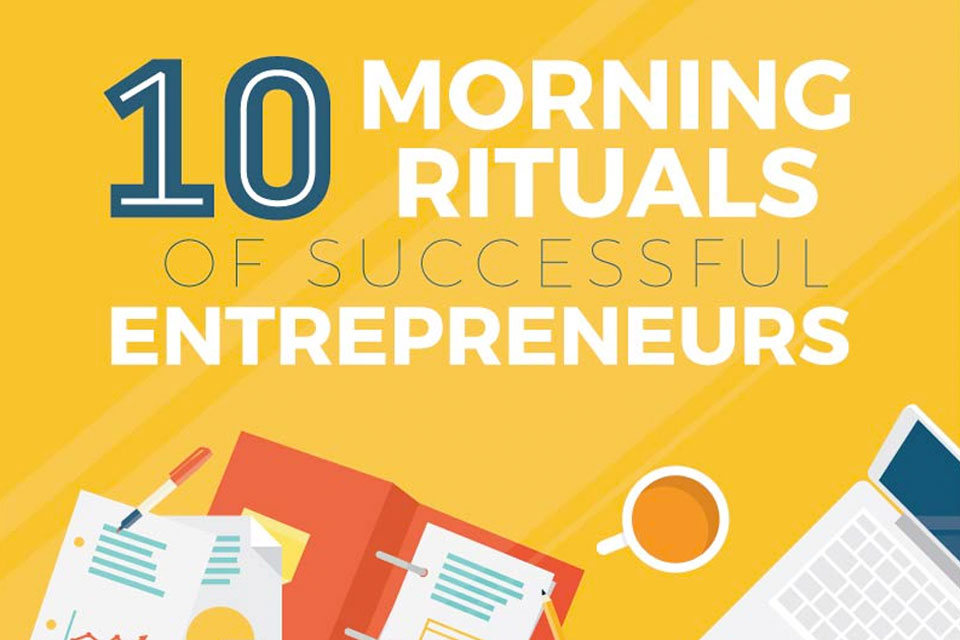 morning rituals entrepreneurs