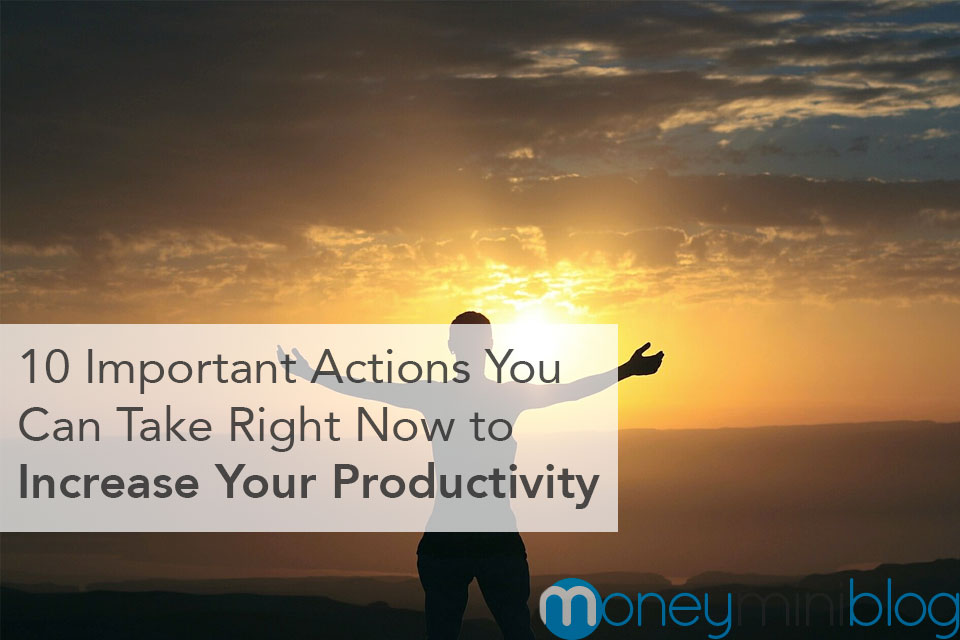increased productivity actions to take